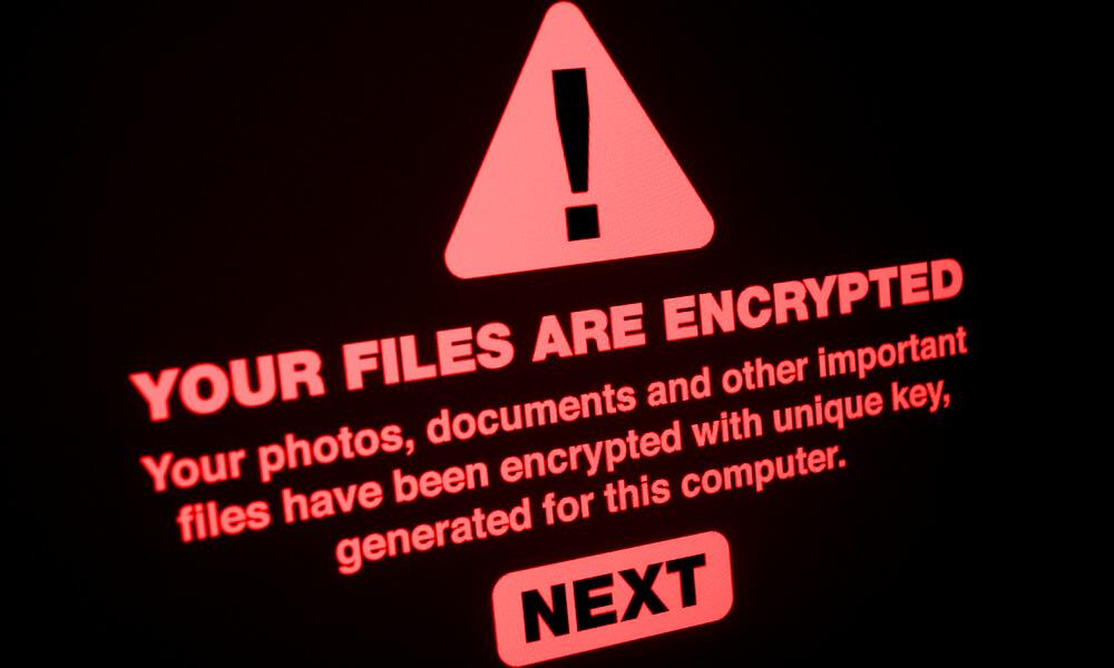 Mes fichiers sont cryptés