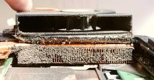 poussière ventilateur pc portable