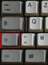 ordinateur ne s'éteint plus: touche majuscule avec commande éteindre