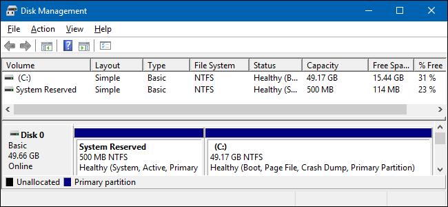 Passer de BIOS à UEFI et MBR à GPT: vérifiez si vous êtes en MBR.
